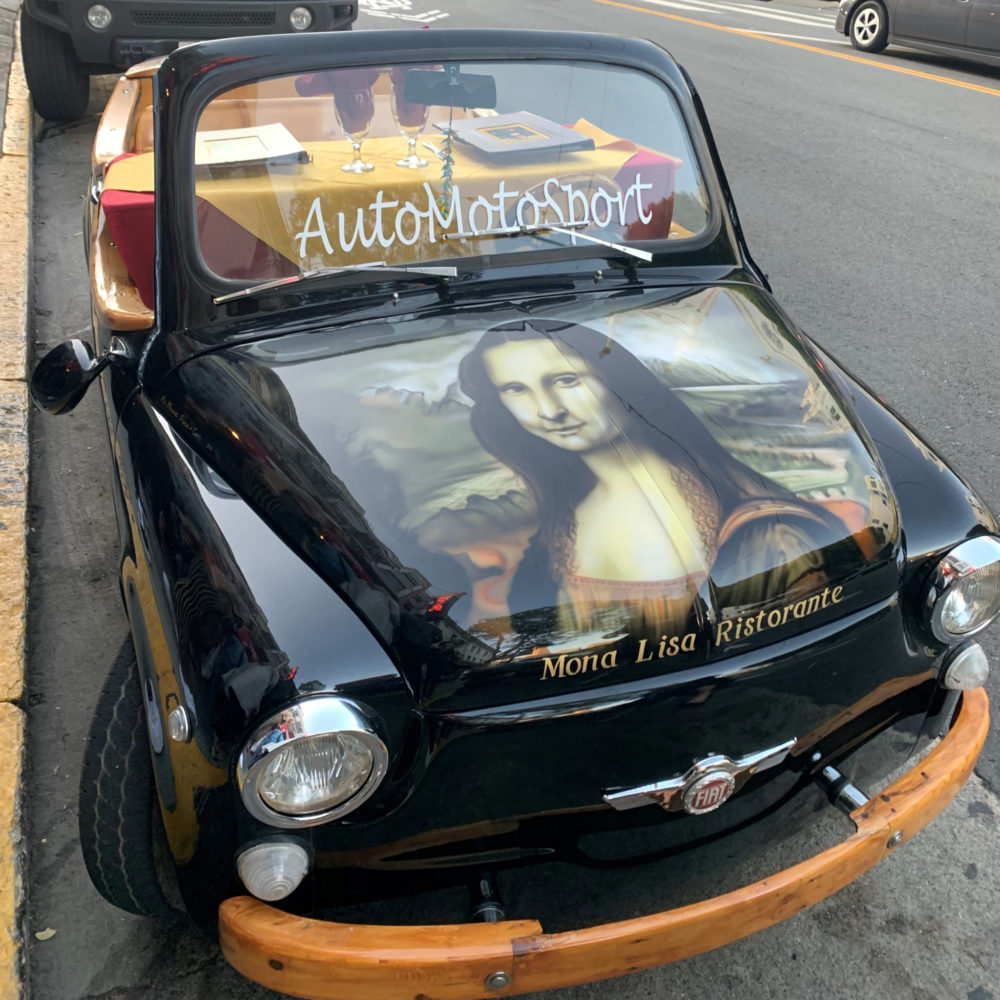 Mona Lisa Car